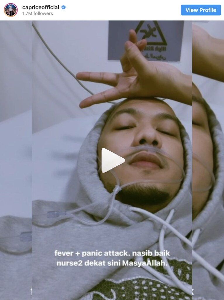 Caprice Dibawa Ke Hospital Di Jordan Akibat Diserang Panic Attack
