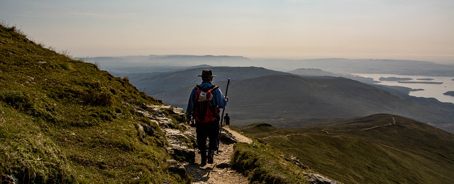 Nice level path on the ridge