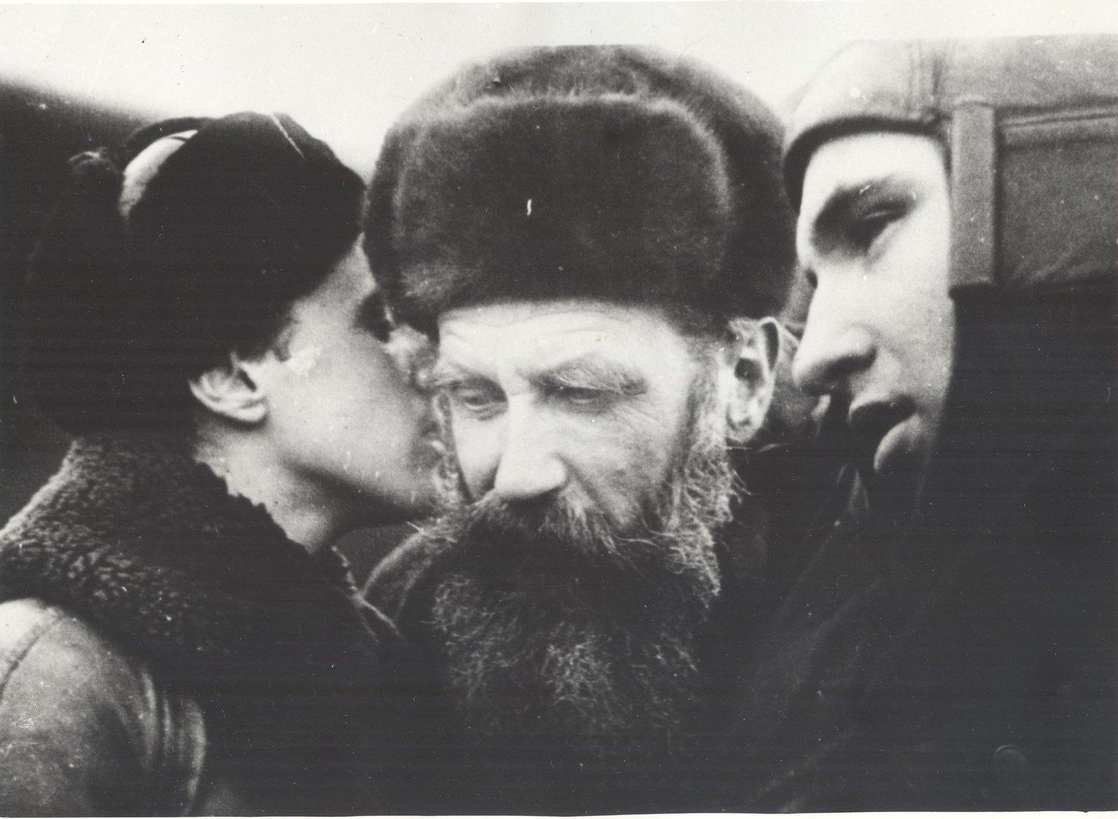 1934. Руководитель экспедиции на ледоколе «Челюскин» О.Ю. Шмидт.