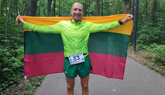Alexandr Sorokin z Litvy světovým rekordmanem, za 24h zaběhl 309,4 km