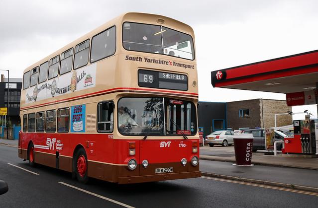 South Yorkshire Transport: 1790 JKW290W Leyland Atlantean/Alexander