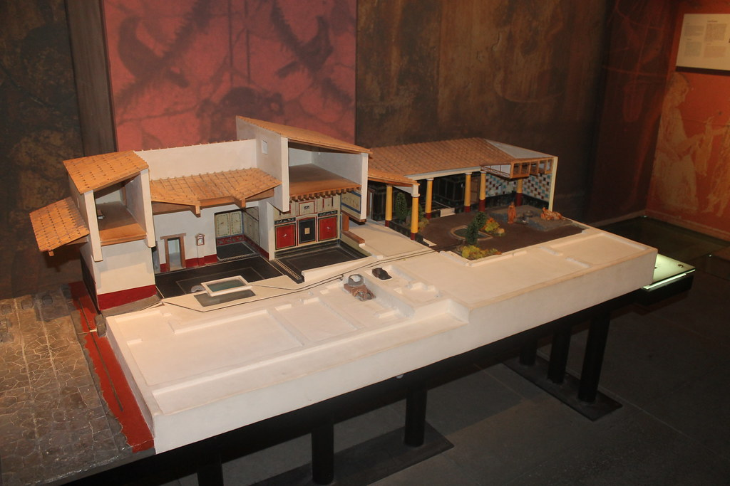 Model of a Roman Villa