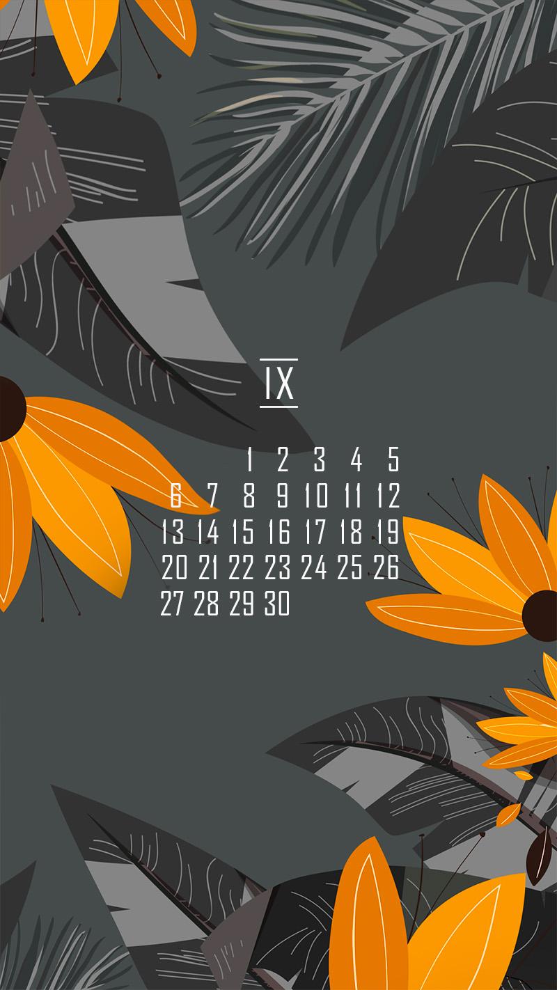 календарь на сентябрь district-f.org в