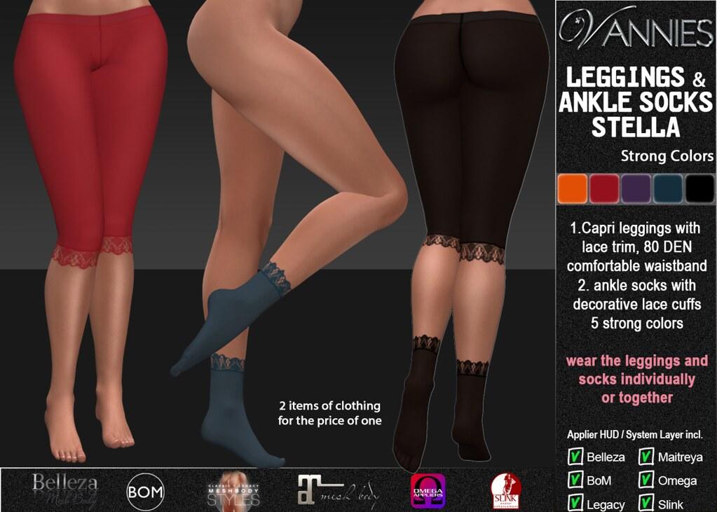 VANNIES Socks & Leggings Stella Strong Colors