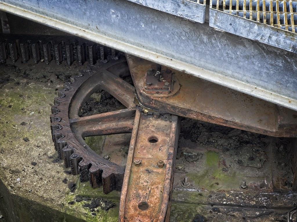 Boston drawbridge gears - Earle gear