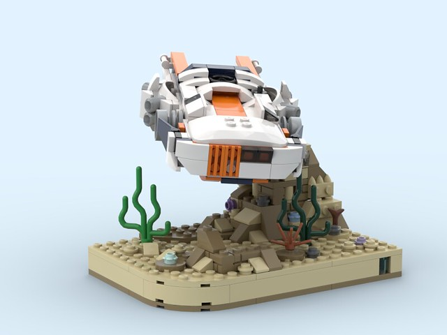 Alt build Creator Set 31089 with Stand 1