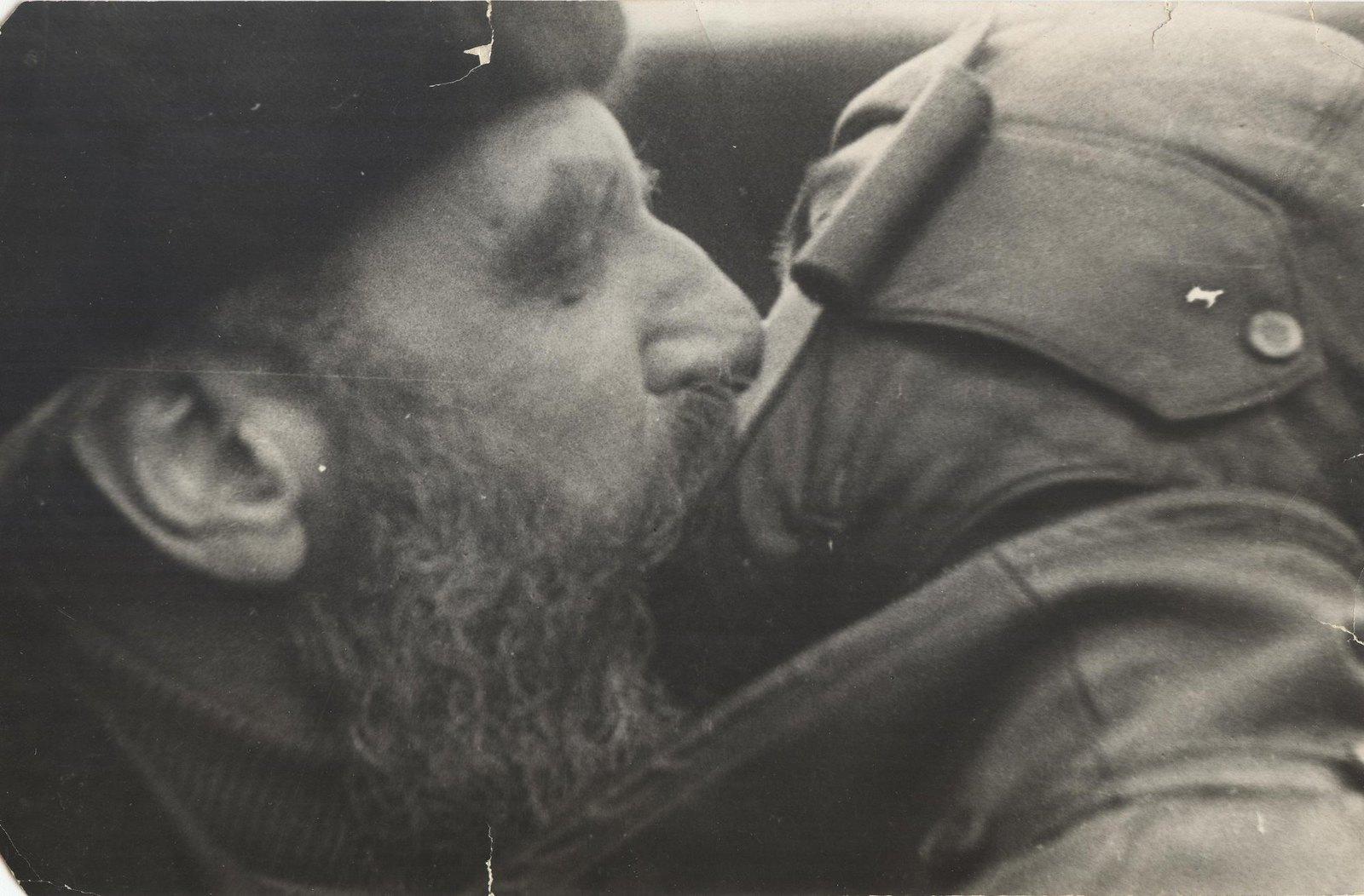 1934. Руководитель экспедиции на ледоколе «Челюскин» О.Ю. Шмидт