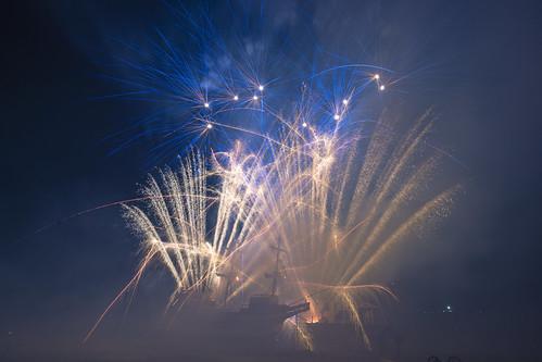 Mayflower Bonfire and Fireworks