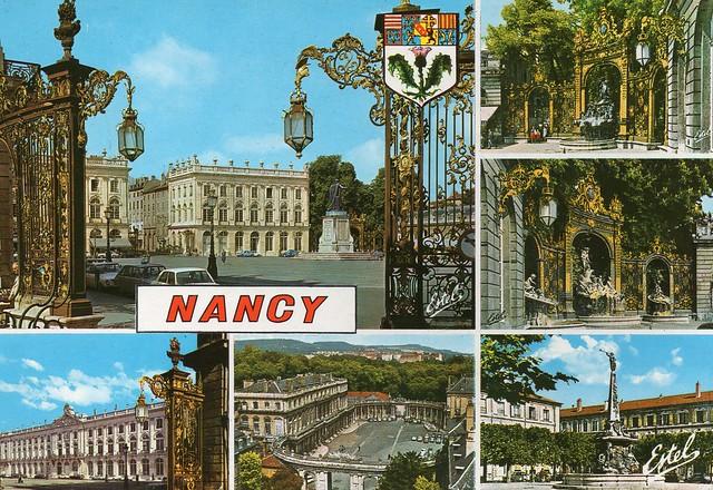 France - Nancy (Place Stanislas - Large pedestrianised square)