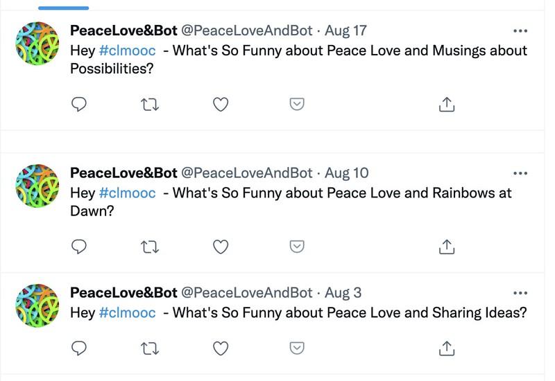 peace love bot