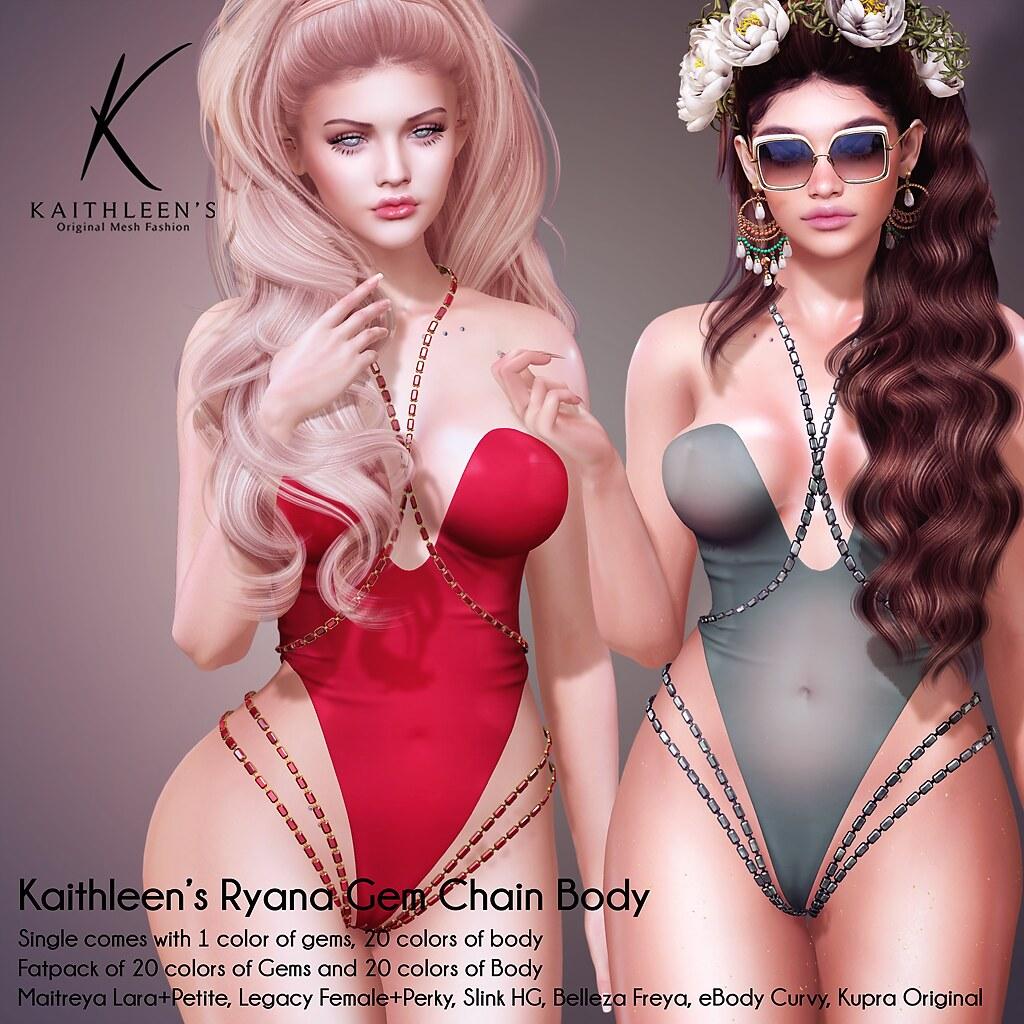 Ryana Gem Chain Body @ Kinky Event