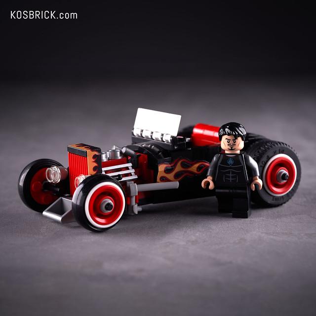 Lego Iron Man Hot Rod Car - Hall of Armor (Tutorial)