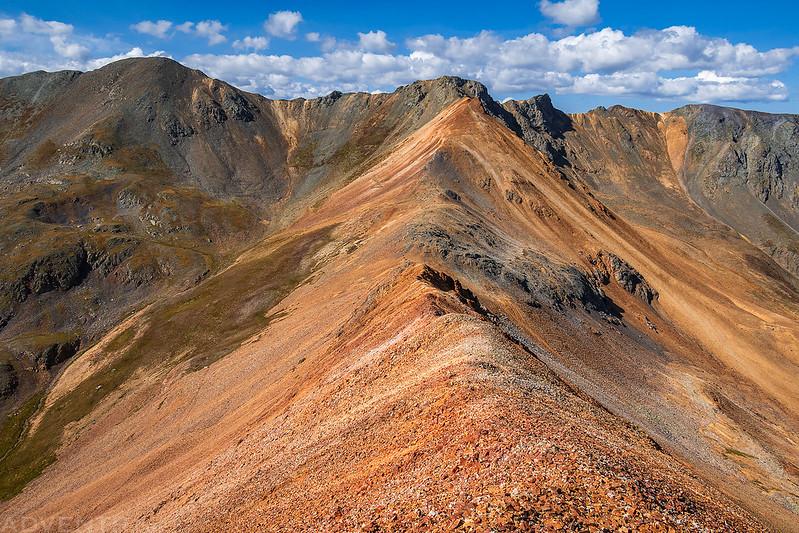 California Mountain Ridge