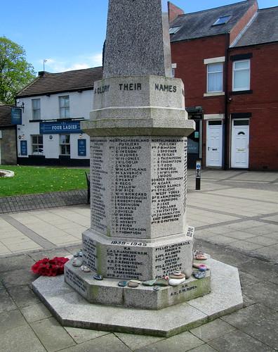 Cramlington War Memorial Part Dedication