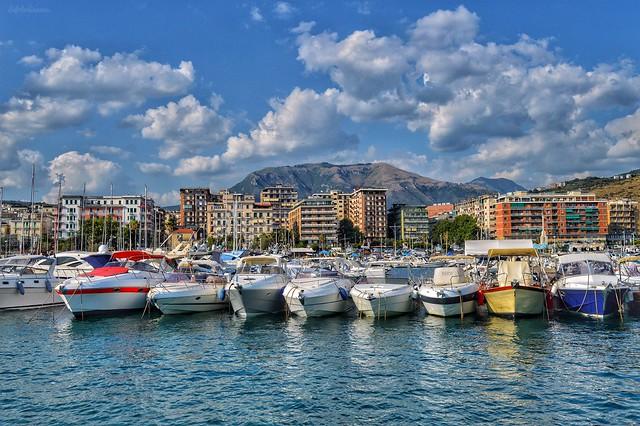Salerno..il bellissimo porto