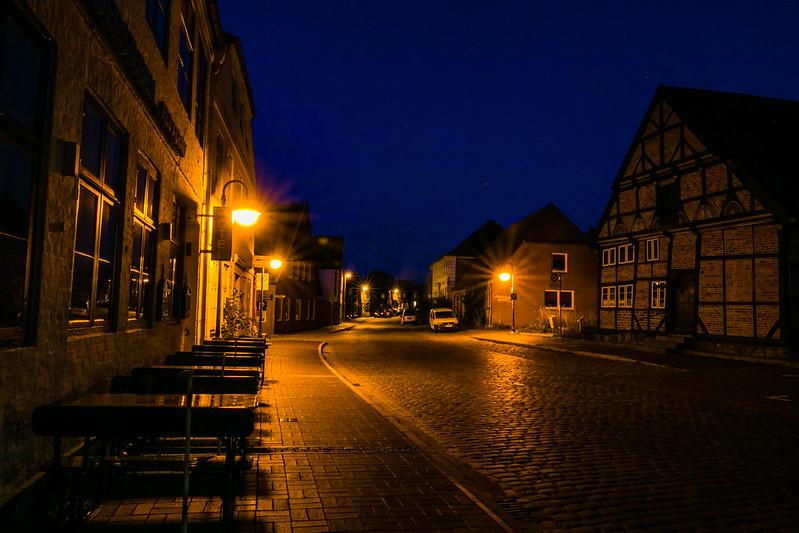 Abends in Bad Segeberg