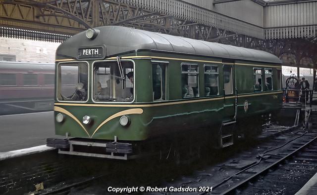 1959 - Railbus at Perth..