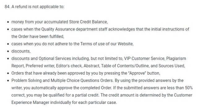 WriteMyPapers refund