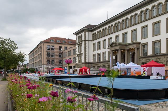 Mobiliar Street Floorball Tour in Winterthur, 28. August 2021