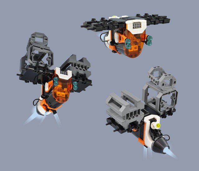 4-D1 Heavy Cargo Lifter - 'The Ant'