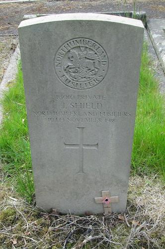 War Grave, Cramlington, Northumberland