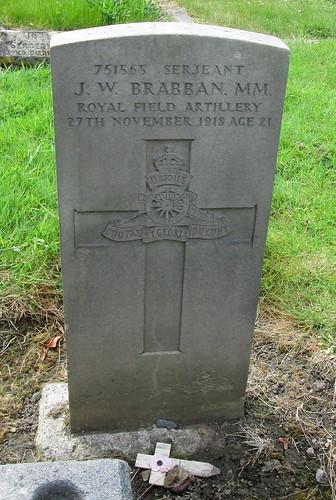 War Grave in Cramlington, Northumberland