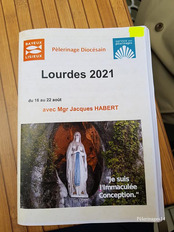 Pèlerinage diocésain Lourdes 2021