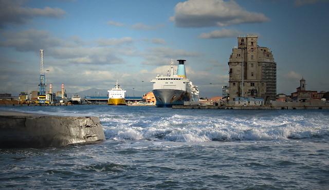 Libeccio al porto