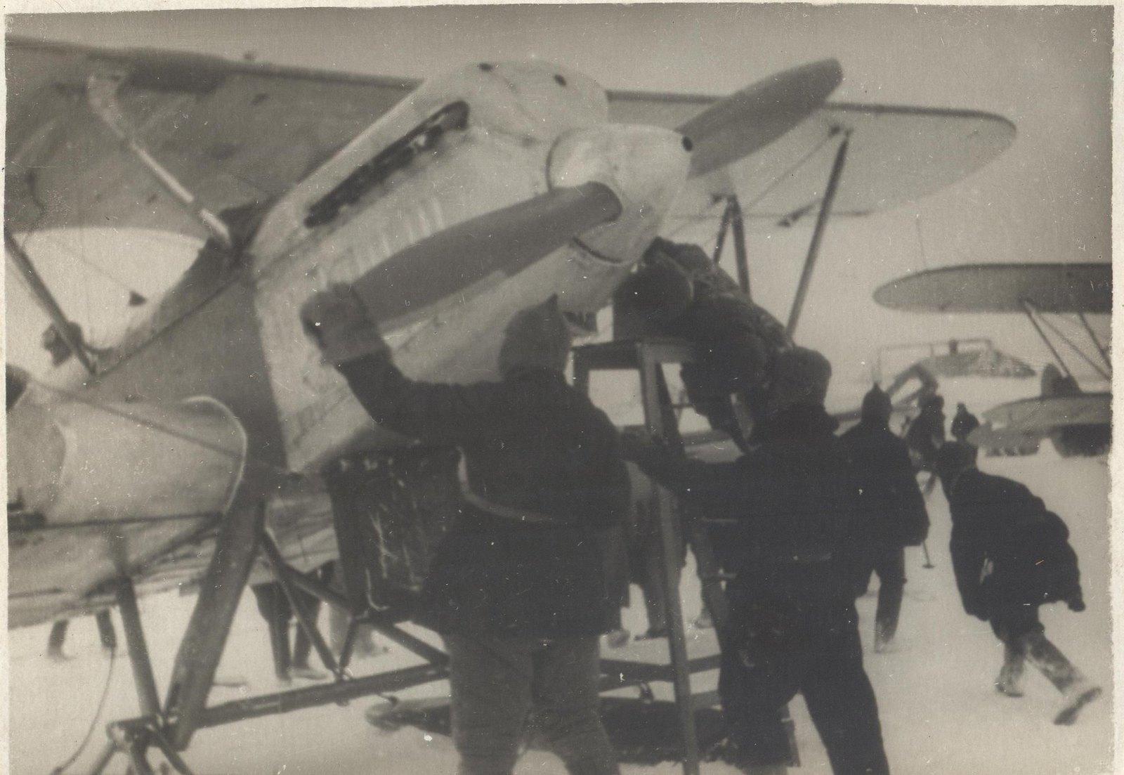 1934. Экспедиция по спасению челюскинцев(3)