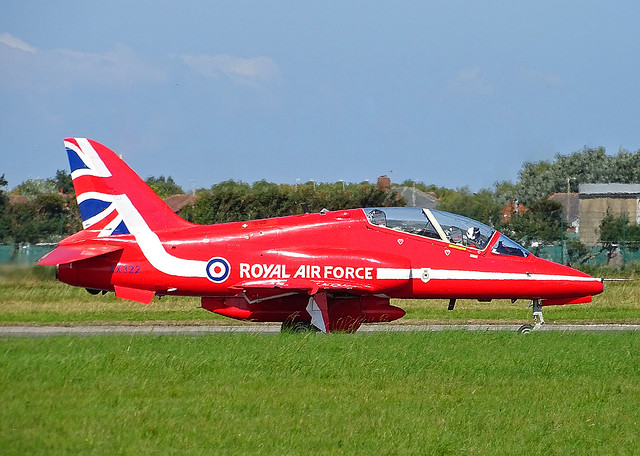 XX322 British Aerospace Hawk T.1A of the Royal Air Force Red Arrows