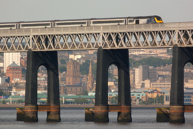 ScotRail HST on the Tay Bridge
