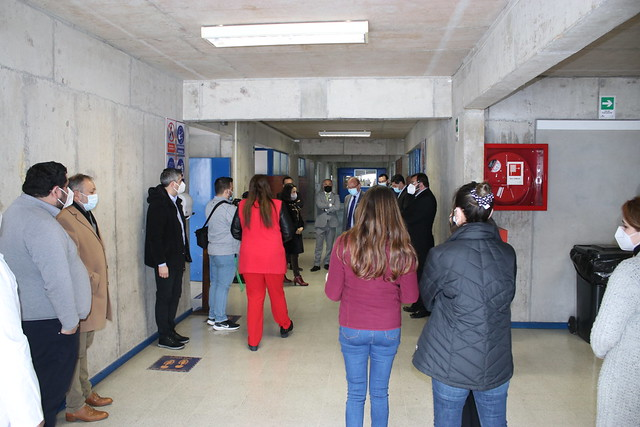 Inauguración nuevos laboratorios TP