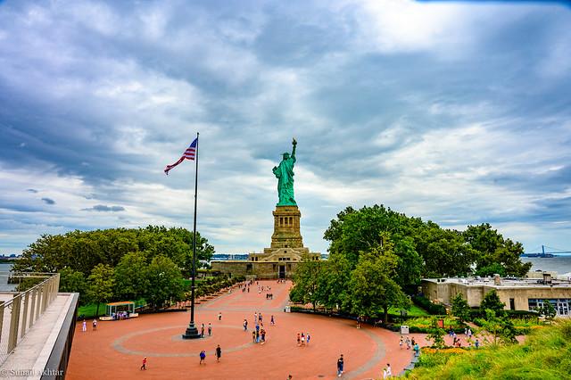 Statue of Liberty - post Covid