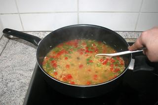 22 - Scramble & bring to a boil / Verrühren & aufkochen lassen