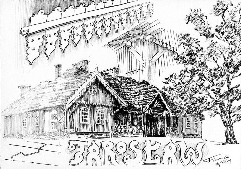 Drewniany dwór