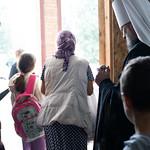30 августа 2021, Молебен на начало учебного года для детей-сирот, детей из малообеспеченных и многодетных семей в восстанавливающемся Спасо-Преображенском  кафедральном соборе (Тверь)