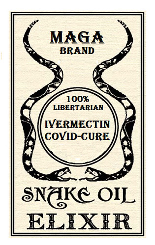 Ivermectin Cannot De-Worm Anti-Vax Brains