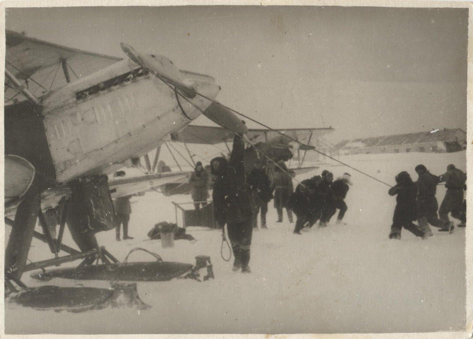 1934. Экспедиция по спасению челюскинцев(4)