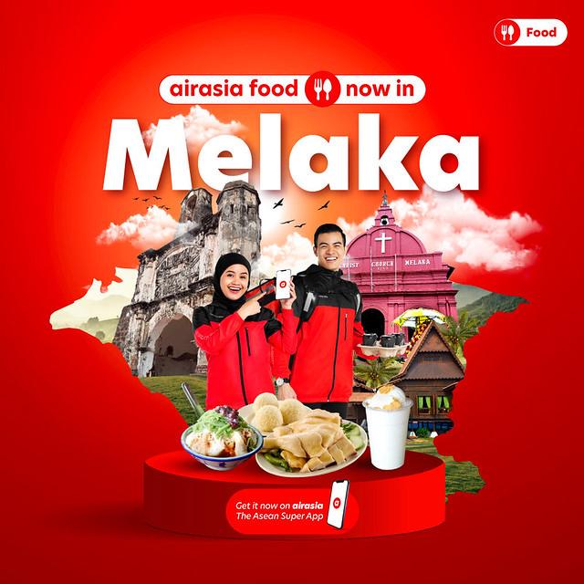 Airasia Food Perluas Perkhidmatan Serentak Ke Johor Bahru Dan Melaka