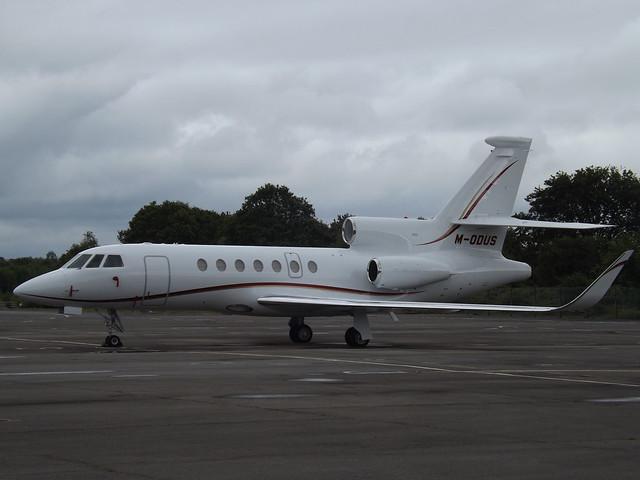 M-ODUS Dassault Falcon 50EX (Modus Aviation Ltd)