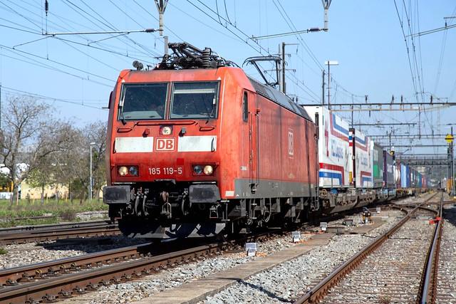 DB Cargo 185 119 Pratteln