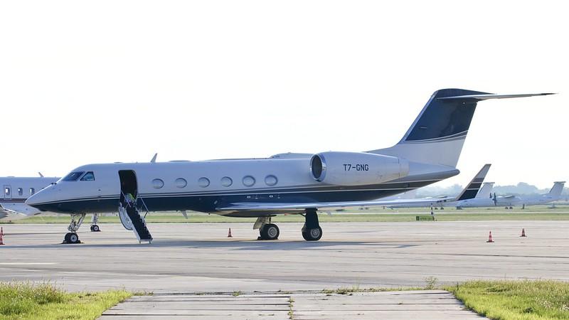 T7-GNG / Gulfstream G450 / private