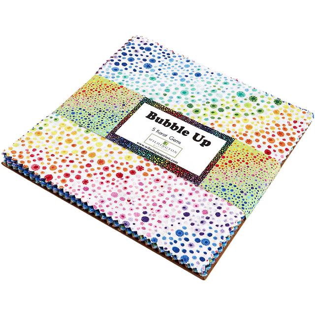 Wilmington Prints / Essentials Bubble Up / 5in Squares 42pcs /チャームパック