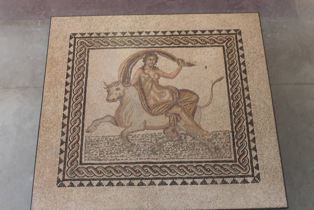 Mosaic of the Abduction of Europa