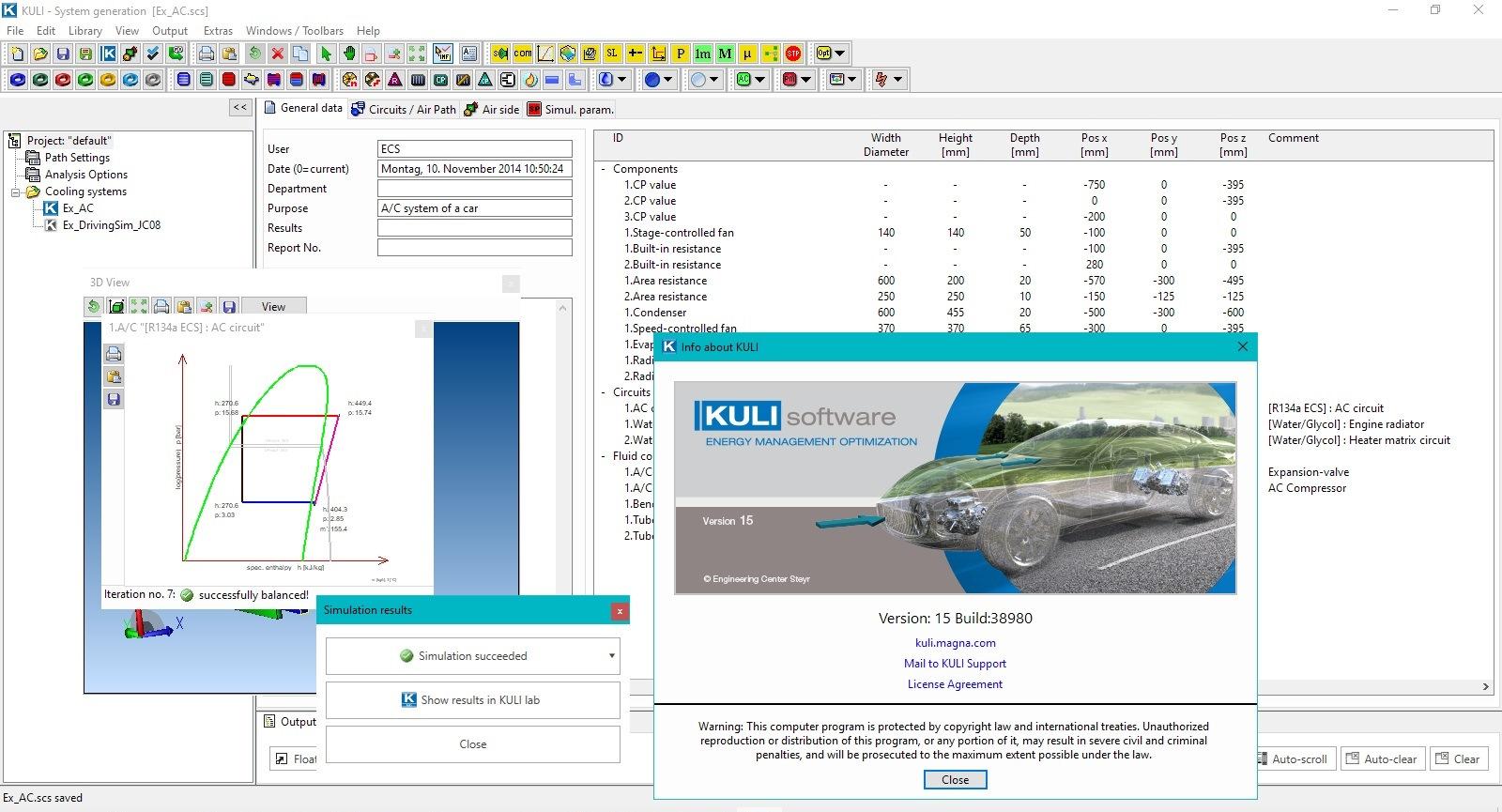 Working with MAGNA KULI 15.0 full