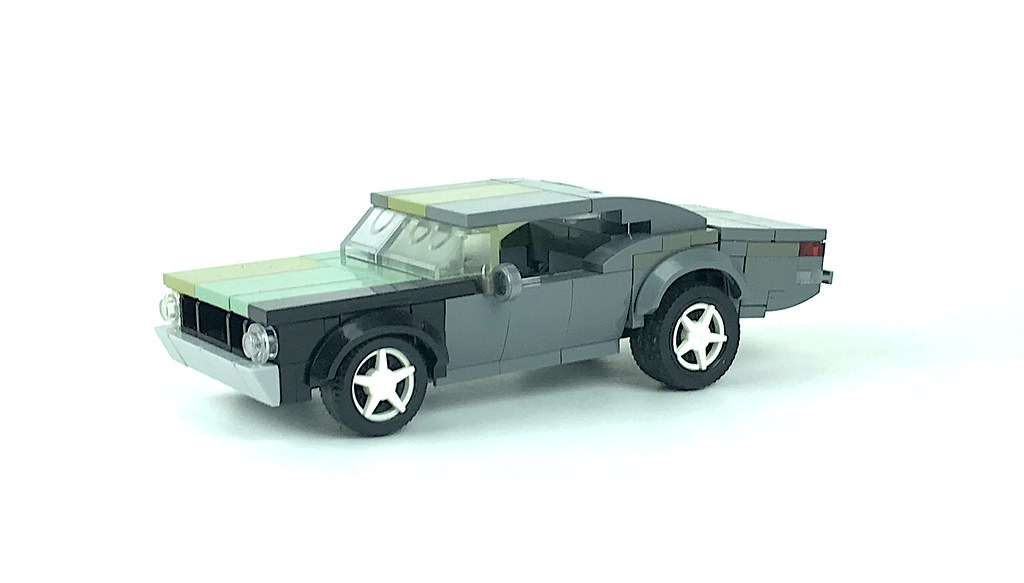 ratty muscle car
