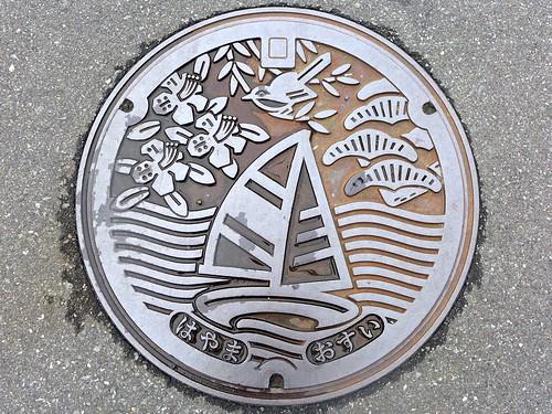 Hayama Kanagawa, manhole cover (神奈川県葉山町のマンホール)