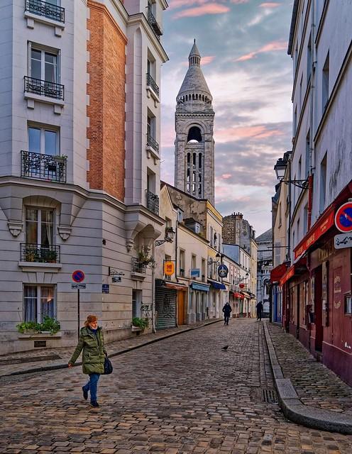 Montmartre / Rue du Chevalier de la Barre