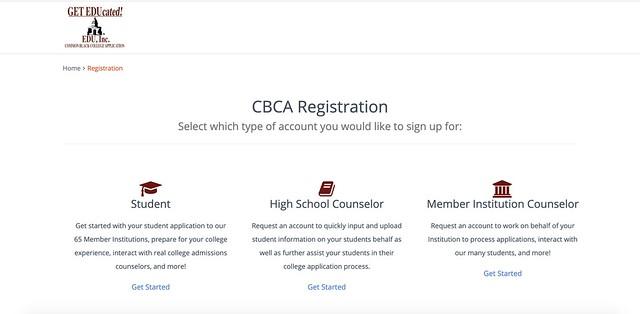 common black college application