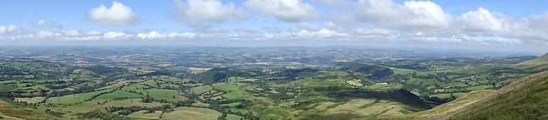 Twmpa Panorama